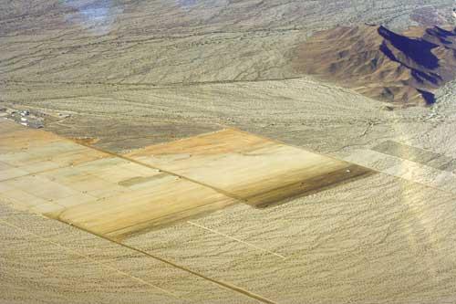 Solar Desert Sunlight construction zone, December 2011 Photo by Chris Clarke | KCET